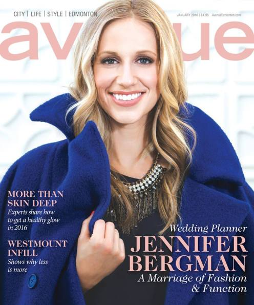 Avenue Magazine Cover Edmonton January 2016